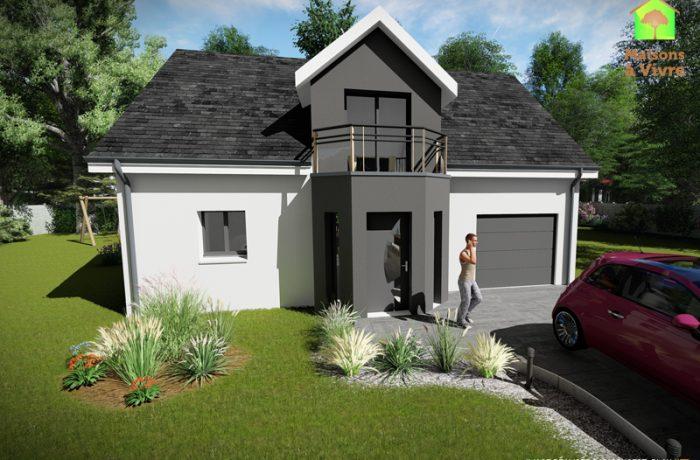 Voici Le Modele De Maison Neuve Aulne De La Gamme Actuel Maisons A Vivre