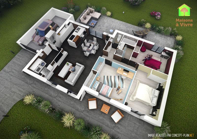 Exemple-d-aménagement-intérieur-maison-neuve-modèle-Glycine-Actuel-Maisons-à-Vivre
