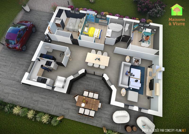 Exemple-d-aménagement-intérieur-maison-neuve-modèle-Orme-Actuel-Maisons-à-Vivre